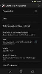 Sony Xperia Z - Internet und Datenroaming - Deaktivieren von Datenroaming - Schritt 5