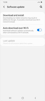 Samsung Galaxy S20 5G - Software - Installing software updates - Step 5