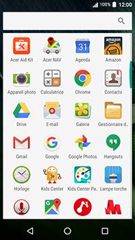 Acer Liquid Zest 4G Plus - E-mail - Configuration manuelle - Étape 4