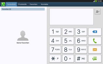 Samsung P5220 Galaxy Tab 3 10-1 LTE - Anrufe - Anrufe blockieren - Schritt 4
