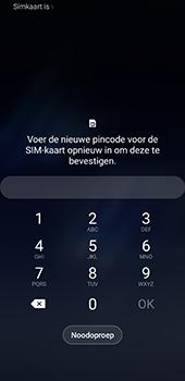 Samsung galaxy-s8-sm-g950f-android-pie - Beveiliging en ouderlijk toezicht - PUK code invoeren - Stap 4