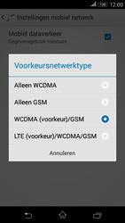 Sony E2003 Xperia E4G - internet - activeer 4G Internet - stap 6