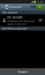 Samsung I9105P Galaxy S II Plus - bluetooth - aanzetten - stap 7
