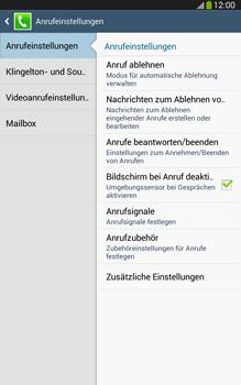 Samsung Galaxy Tab 3 8-0 LTE - Anrufe - Anrufe blockieren - 2 / 2