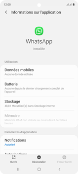 Samsung Galaxy A51 - Applications - Supprimer une application - Étape 6