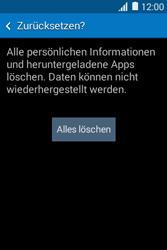 Samsung Galaxy Young 2 - Fehlerbehebung - Handy zurücksetzen - 9 / 11