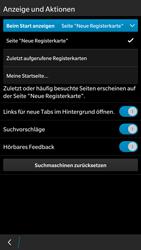 BlackBerry Leap - Internet - Manuelle Konfiguration - 1 / 1