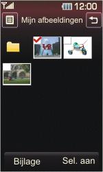 LG KP500 Cookie - E-mail - hoe te versturen - Stap 11