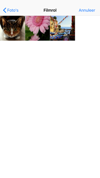 Apple iPhone 6 Plus - iOS 12 - MMS - Afbeeldingen verzenden - Stap 10