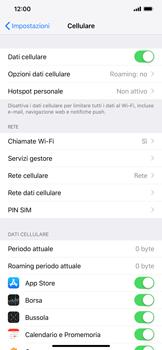 Apple iPhone XS Max - Rete - Selezione manuale della rete - Fase 4