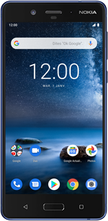 Nokia 8 - Android Pie - Téléphone mobile - Comment effectuer une réinitialisation logicielle - Étape 2
