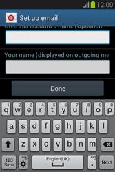 Samsung Galaxy Fame Lite - E-mail - manual configuration - Step 21