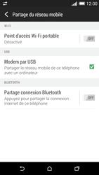 HTC One (M8) - Internet et connexion - Utiliser le mode modem par USB - Étape 8