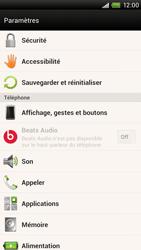 HTC S728e One X Plus - Messagerie vocale - Configuration manuelle - Étape 4