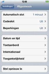 Apple iPhone 4S met iOS 5 (Model A1387) - Probleem oplossen - Toestel resetten - Stap 4
