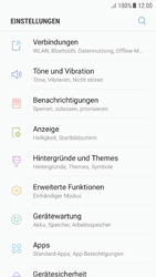 Samsung Galaxy A5 (2016) - Android Nougat - Netzwerk - Manuelle Netzwerkwahl - Schritt 4