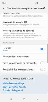 Samsung Galaxy S10 - Sécuriser votre mobile - Personnaliser le code PIN de votre carte SIM - Étape 5