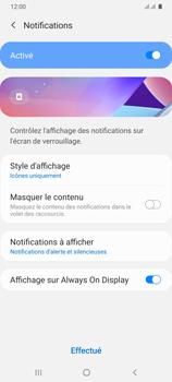 Samsung Galaxy A31 - Sécuriser votre mobile - Activer le code de verrouillage - Étape 11