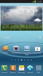Samsung Galaxy S III LTE - Rete - Selezione manuale della rete - Fase 1
