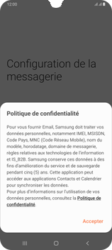 Samsung Galaxy A70 - E-mail - 032c. Email wizard - Outlook - Étape 9