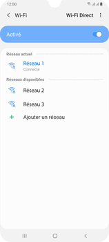 Samsung Galaxy A70 - Wifi - configuration manuelle - Étape 8