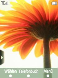 Samsung F480-TouchWiz - Apps - Konto anlegen und einrichten - Schritt 1
