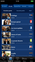 Apple iPhone 6 Plus iOS 8 - Photos, vidéos, musique - Regarder la TV - Étape 5
