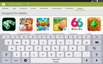Samsung T535 Galaxy Tab 4 10.1 - Applications - Installing applications - Step 14