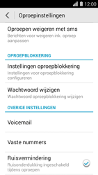 Huawei Ascend Y550 - Voicemail - Handmatig instellen - Stap 4