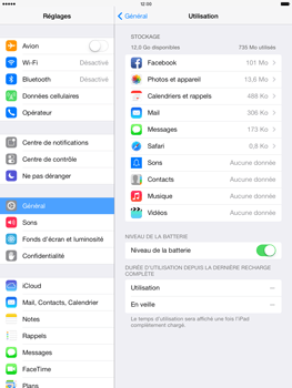 Apple iPad Air - Applications - Comment désinstaller une application - Étape 5