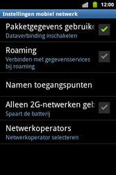 Samsung S5690 Galaxy Xcover - netwerk en bereik - gebruik in binnen- en buitenland - stap 6