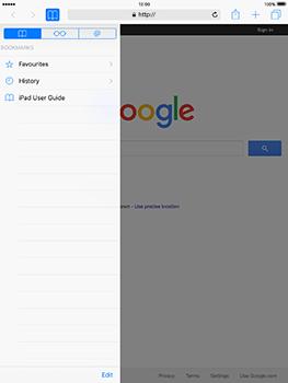 Apple iPad Mini 3 iOS 10 - Internet - Internet browsing - Step 8