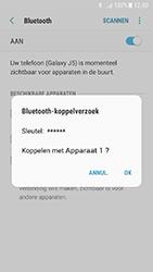 Samsung Galaxy J5 (2017) - bluetooth - headset, carkit verbinding - stap 8