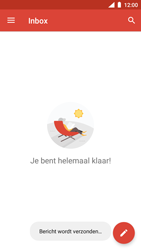 Nokia 5 - Android Oreo - E-mail - hoe te versturen - Stap 17