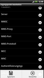 HTC Z710e Sensation - Internet - Manuelle Konfiguration - Schritt 12