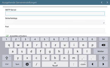 Samsung T535 Galaxy Tab 4 10.1 - E-Mail - Manuelle Konfiguration - Schritt 12