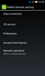 Alcatel One Touch Pop C3 - Network - Manual network selection - Step 8