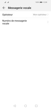 Huawei Y5 (2019) - Messagerie vocale - configuration manuelle - Étape 8