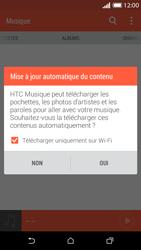 HTC Desire 610 - Photos, vidéos, musique - Ecouter de la musique - Étape 5