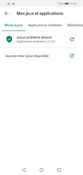 Huawei Y5 (2019) - Applications - comment vérifier si des mises à jour sont disponibles pour l'appli - Étape 6