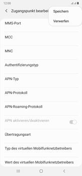 Samsung Galaxy Note 20 Ultra 5G - Internet und Datenroaming - Manuelle Konfiguration - Schritt 18