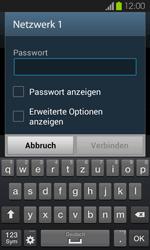 Samsung I9100 Galaxy S2 mit Android 4.1 - WLAN - Manuelle Konfiguration - Schritt 7