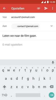 OnePlus 2 - e-mail - hoe te versturen - stap 8