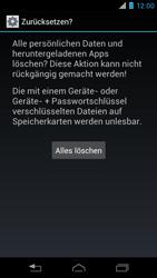 Motorola RAZR i - Fehlerbehebung - Handy zurücksetzen - 2 / 2