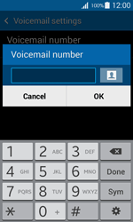Samsung G357 Galaxy Ace 4 - Voicemail - Manual configuration - Step 7