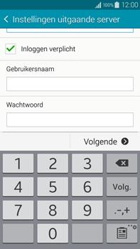 Samsung N910F Galaxy Note 4 - E-mail - handmatig instellen - Stap 14