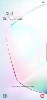 Samsung Galaxy Note 10 Plus 5G - Gerät - Einen Soft-Reset durchführen - Schritt 5