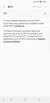 Samsung Galaxy S8 - Android Oreo - WiFi - WiFi configuration - Step 6