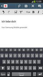 Samsung I9295 Galaxy S4 Active - E-Mail - E-Mail versenden - Schritt 10