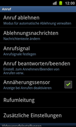 Samsung Galaxy Ace 2 - Anrufe - Anrufe blockieren - 5 / 13